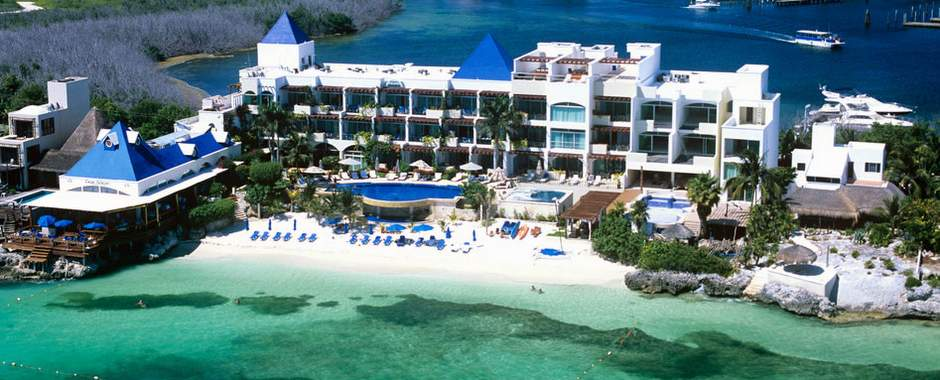 Isla mujeres cancun small luxury resorts hotels hotel for Small luxury beach hotels