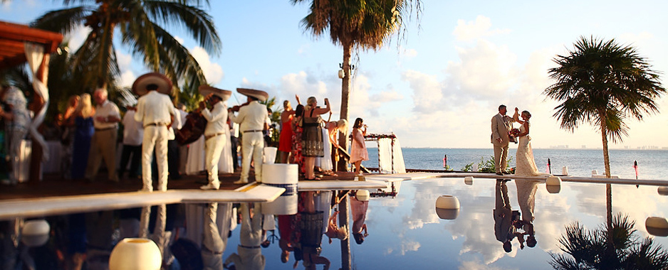 Isla Mujeres Cancun Luxury Destination Weddings Social Celebrations At Villa Rolandi